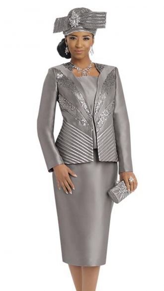 Grey Womens Church Suits
