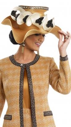donna-vinci-hat-h13193-gold