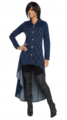 donna-vinci-jeans-8423-blue