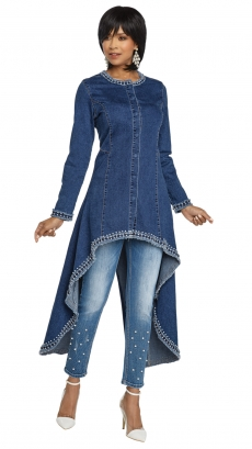 donna-vinci-jeans-8424-blue