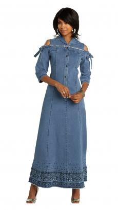 donna-vinci-jeans-8435-blue