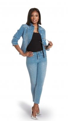 donna-vinci-jeans-8447-light-blue