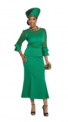donna-vinci-suits-11804-kelly-green