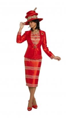 donna-vinci-suits-11811-red