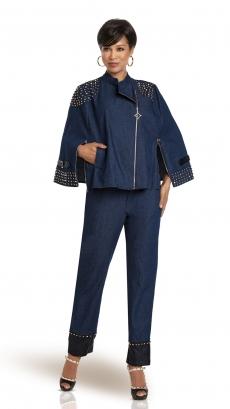 donna-vinci-suits-5746-blue