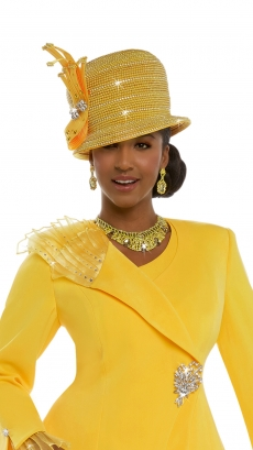 donna-vinci-suits-h11631-yellow