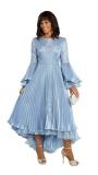 donna-vinci-suits-11850-french-blue